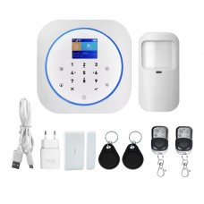 Wireless GSM Wi-Fi alarm system SMART HOUSE T36