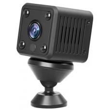 Network IP mini Wi-Fi camera with flash card, microphone, battery 2.0 Mpix 1080P IP013