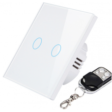 2-key touch switch with remote control function 433 MHz 220 Volt UD009