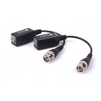 Single channel passive video balun UTP CAT5 CVI / TVI / AHD (pair) AC057