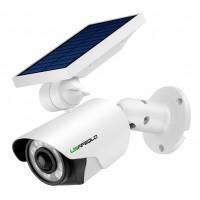 Solar camera with LED light bulbs AC062