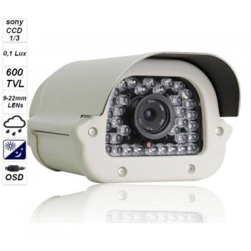 "Camera to capture vehicle license plates 600 TVL 1/3 ""SONY Super HAD CCD AK001"