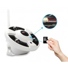 "Network Wi-Fi panoramic IP camera ""fisheye"" 2.0 Mpix 1080P with flash card IP041"