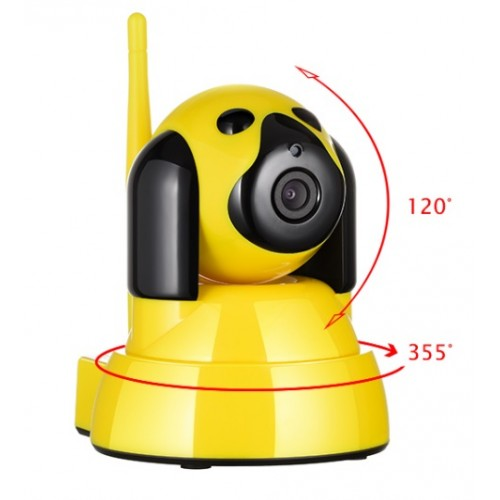 Network IP Camera with Wi-Fi flash cards 1,0 Mpix 720Р IP035