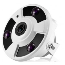 "Network IP Camera POE Panoramic ""fisheye"" 2 Mpix 1080P IP034"