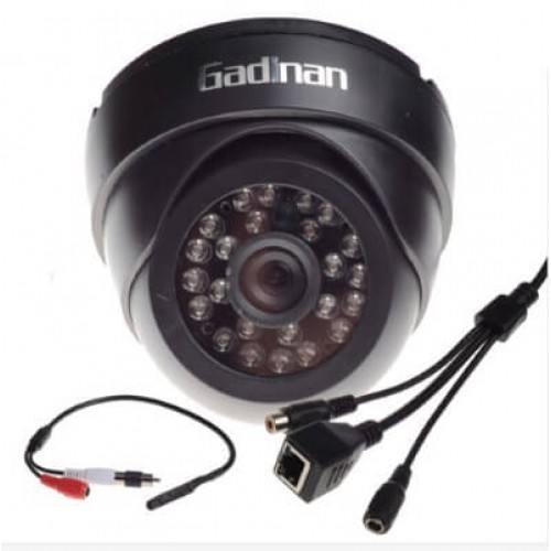Network Dome IP Camera 1.0 Mpix and 720P with a microphone IP023