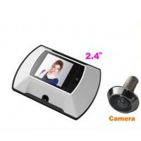 LCD digital wireless peephole camera with DOM-009