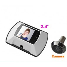 LCD digital wireless peephole camera with DOM-009