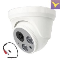 AHD, TVI, CVI 2.0 Mpix Dome Camera with AHD015 Microphone